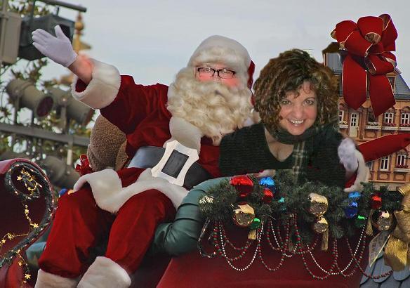 Santa Walt and me
