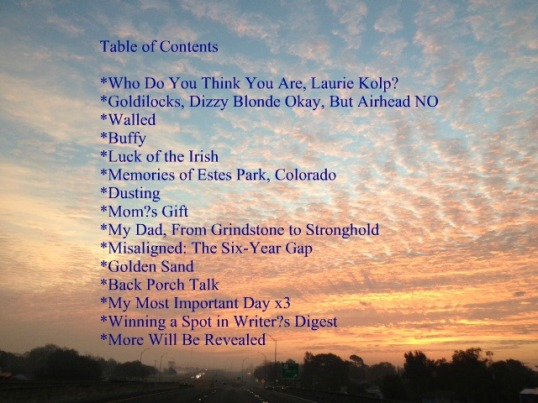 Kolp Table of Contents