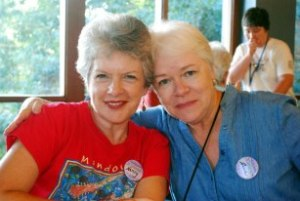 With Nancy Posey