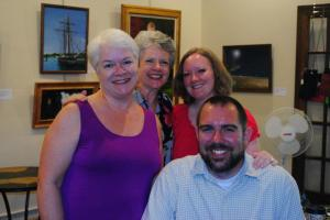 With Robert Lee Brewer, Nancy Posey, and Laurie Kolp