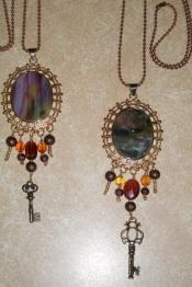 Artglass pendant