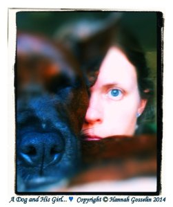 Poet/Image Artist Hannah Gosselin (and Fin)