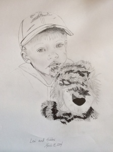 Pencil sketch by Michelle